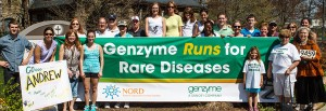 Genzyme's Boston Marathon Team